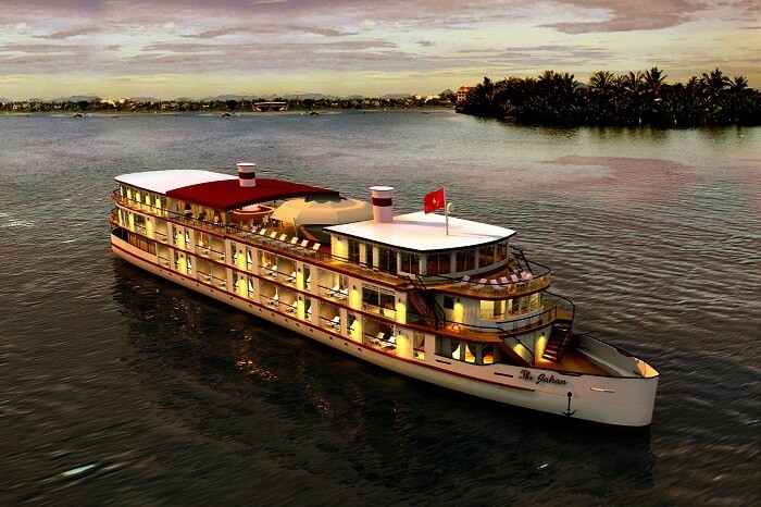 Romantic Cruise Dinner On Mekong River