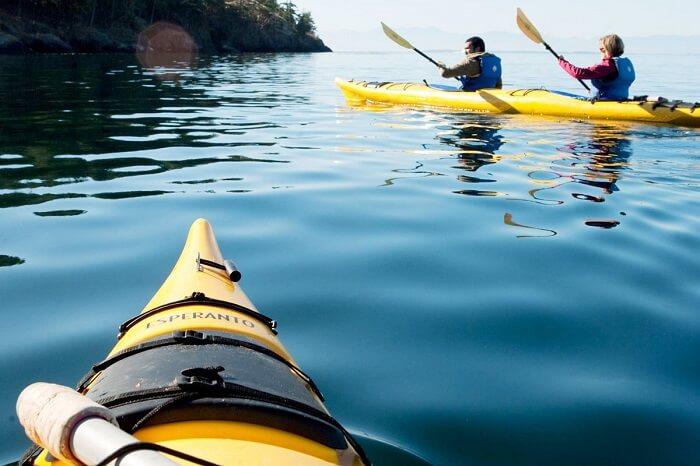 Kayaking on San Juan Islands