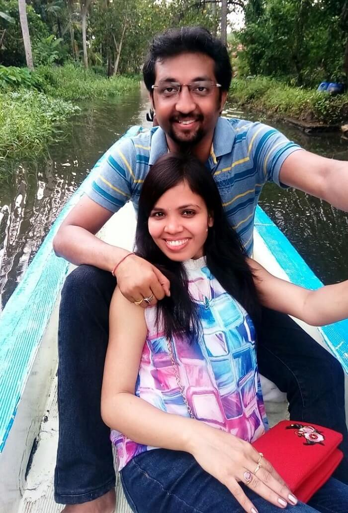 Couple in Alleppey, Kerala