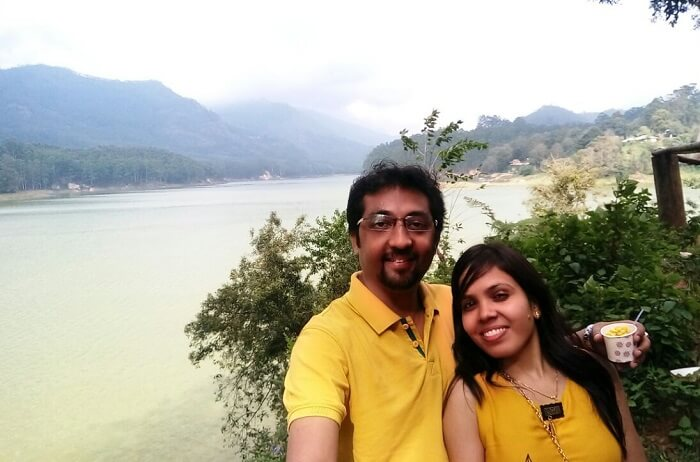 Couple at Mattupetty Lake