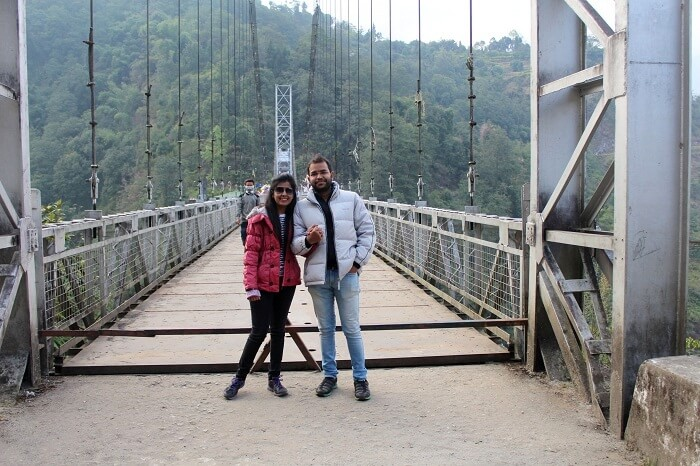 bridge in pelling