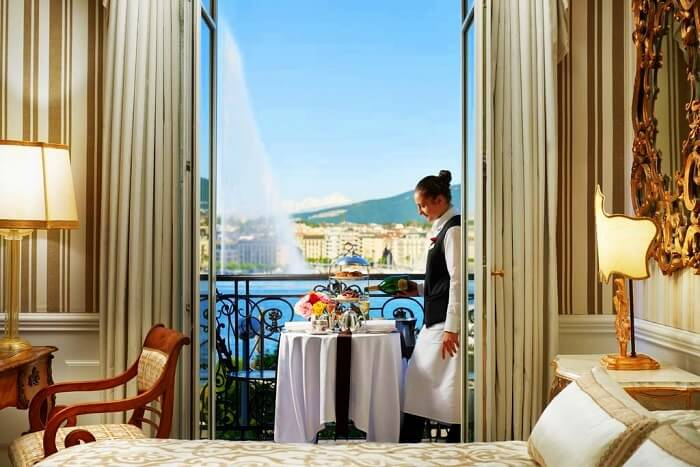 Hotel D'Angleterre, Switzerland