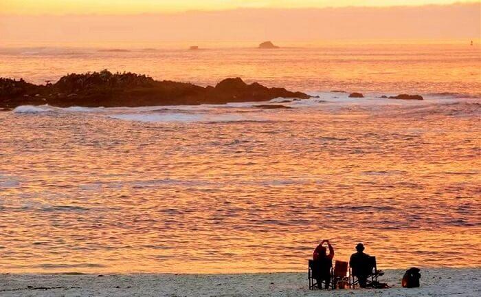 Couple in Monterey, California