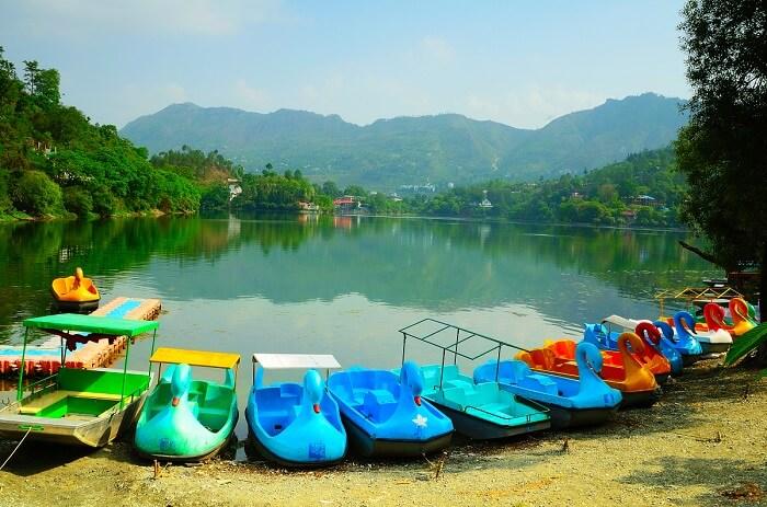Boating in Naukuchiatal