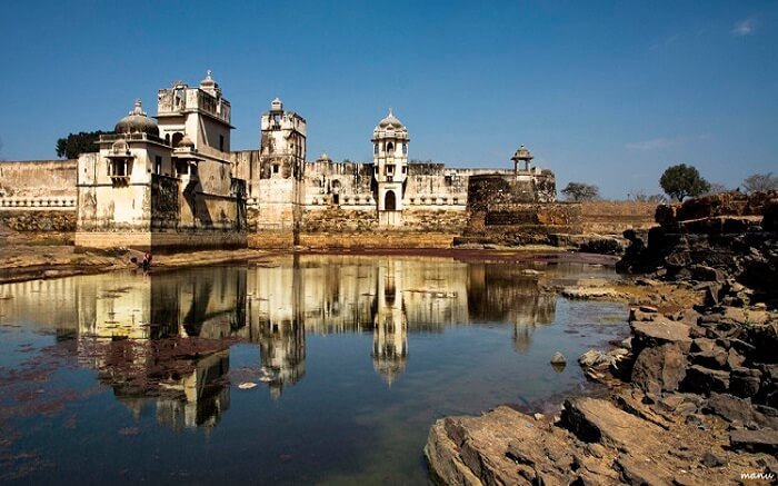 A view of Padmavati Palace in Chittorgarh1