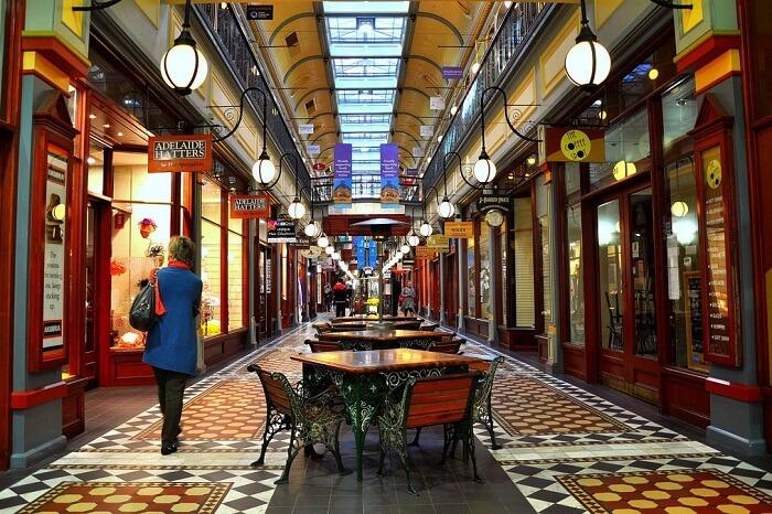 Adelaide Arcade Shopping
