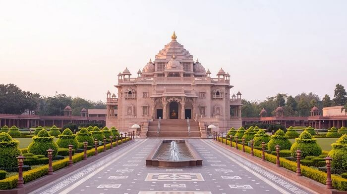 Akshardham temple in Ahmadabad