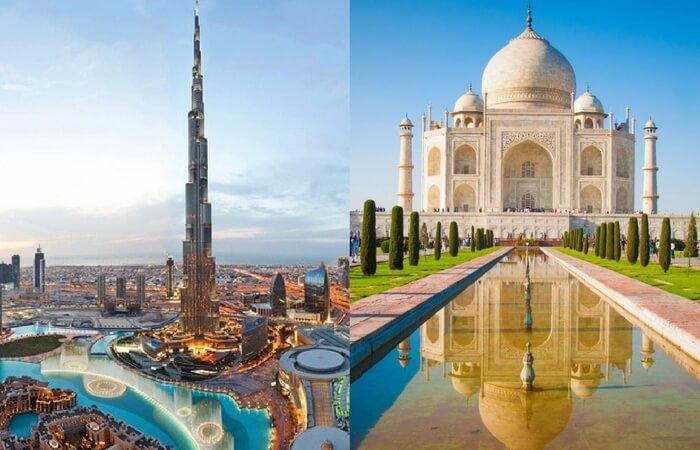 Burj Khalifa Vs Taj Mahal: Comparing Two Of World's Most