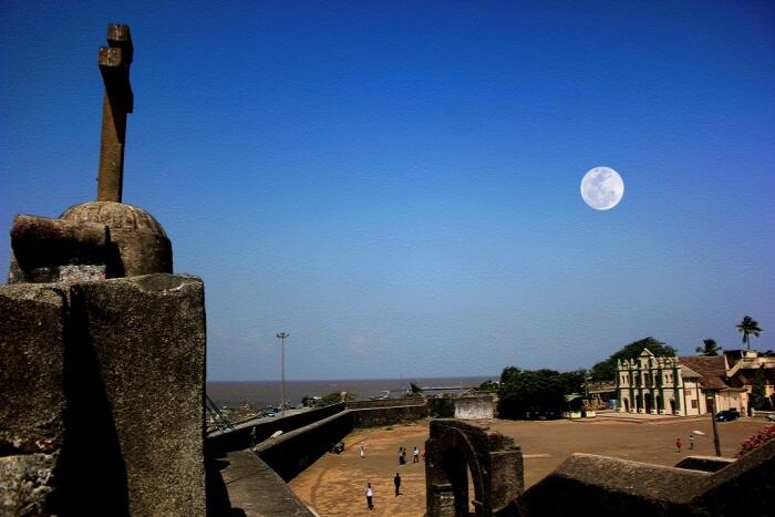Church in Nani Daman Fort in Gujarat