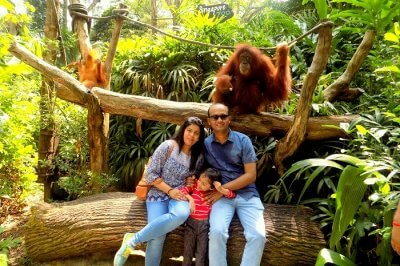 family vacation in Singapore