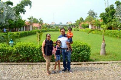 family trip to jim corbett
