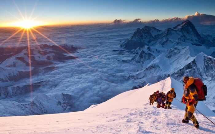 Scaling Mount Everest