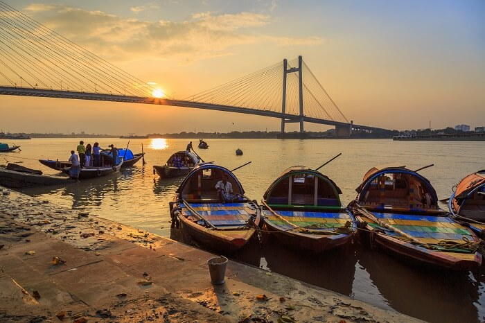 Go Boating At The Princep Ghat On Hooghly