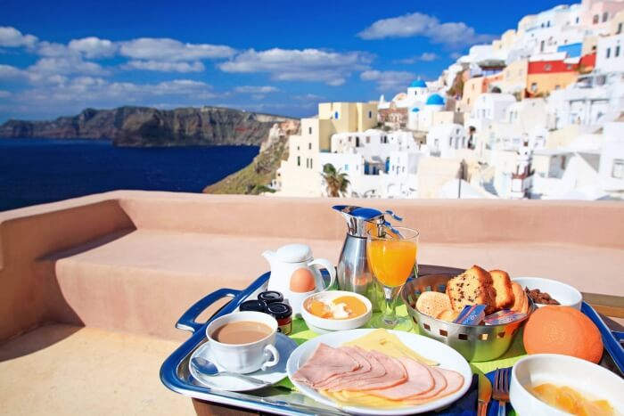 Breakfast in Greece