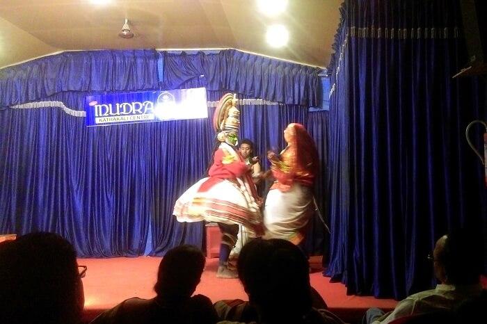Kathakali dance in Thekkady