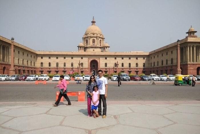 Shekhar's Family In Delhi