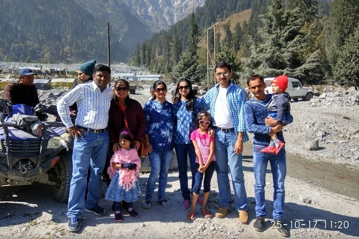 family trip to shimla