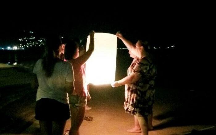 lantern in thailand