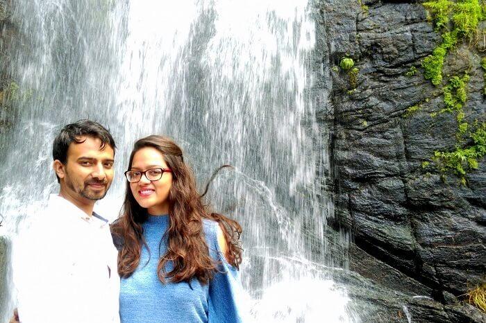 waterfalls near Munnar