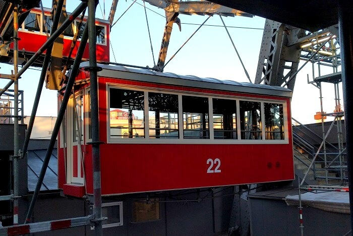 tram ride in vienna