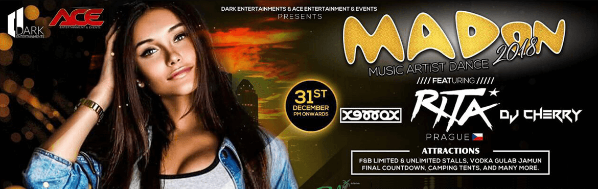 Mad on 2018 event at Park Exotica in Hyderabad