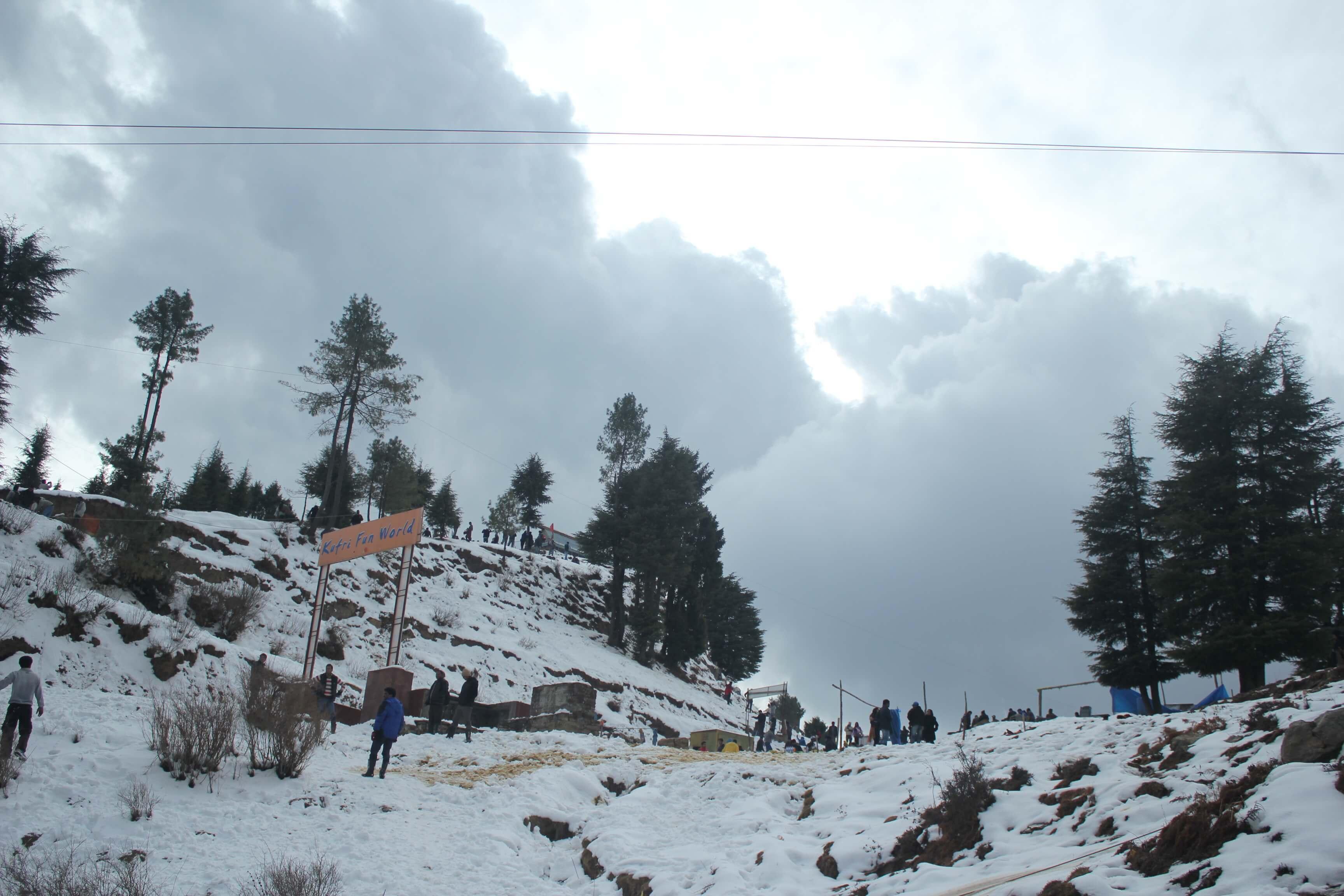 snow covered Mahasu Peak