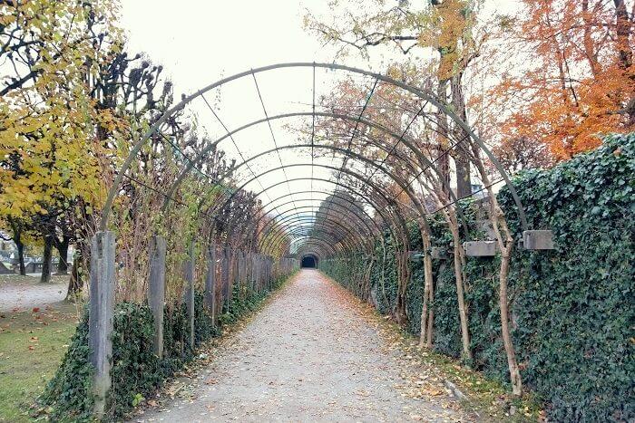 Mirabell Garden entrance