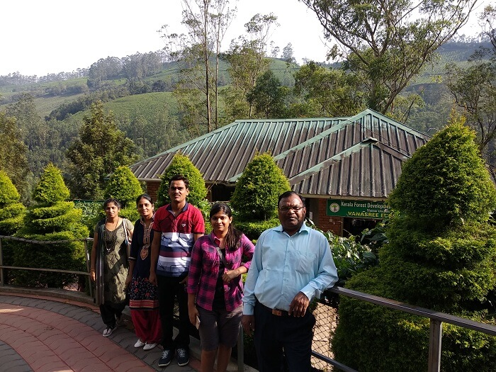 Rose Garden group trip in munnar