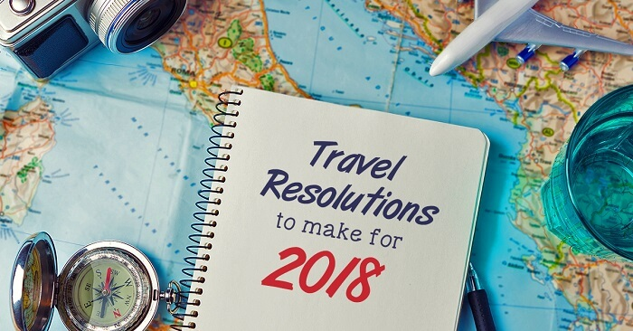 Travel Resolutions To Make For 2018 cover picture