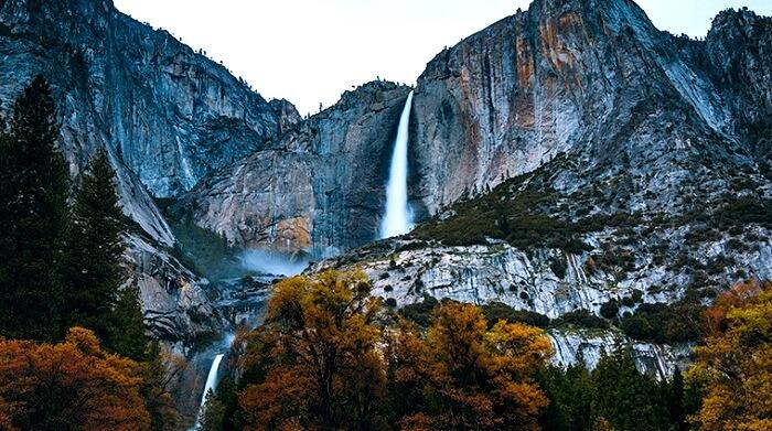 Yosemite Falls Waterfalls