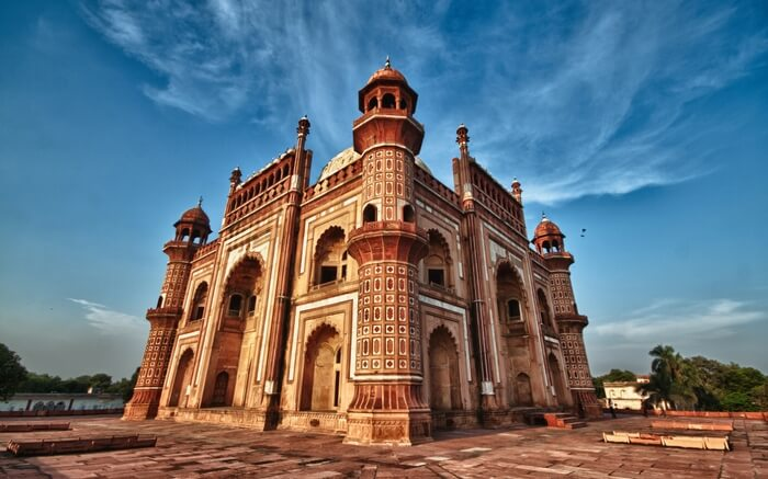 A view of Safdarjung Tomb in Delhi