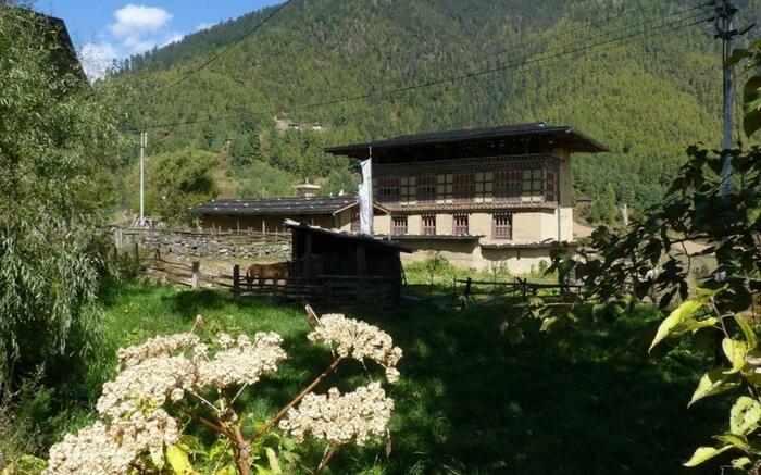A home in Haa Valley in Bhutan