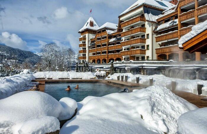 Alpina Gstaad exterior