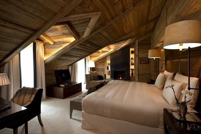 Alpina Gstaad interior
