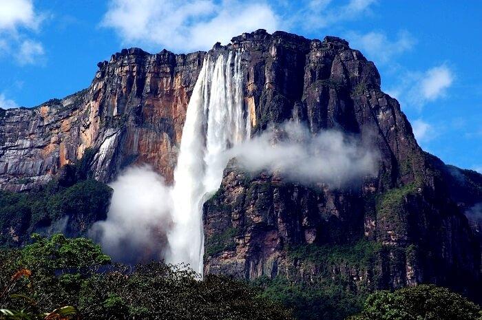 Angel Falls Waterfalls
