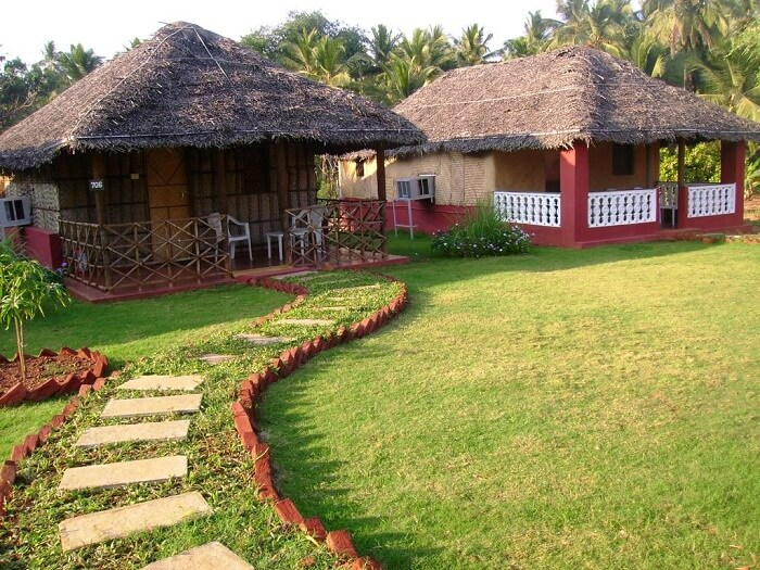 beach bay cottages in Goa