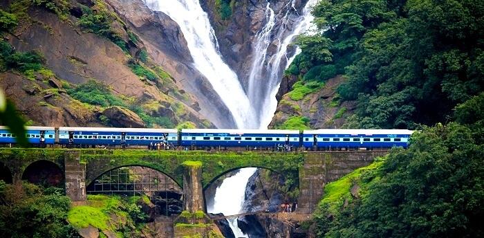 Dudhsagar Falls Waterfalls
