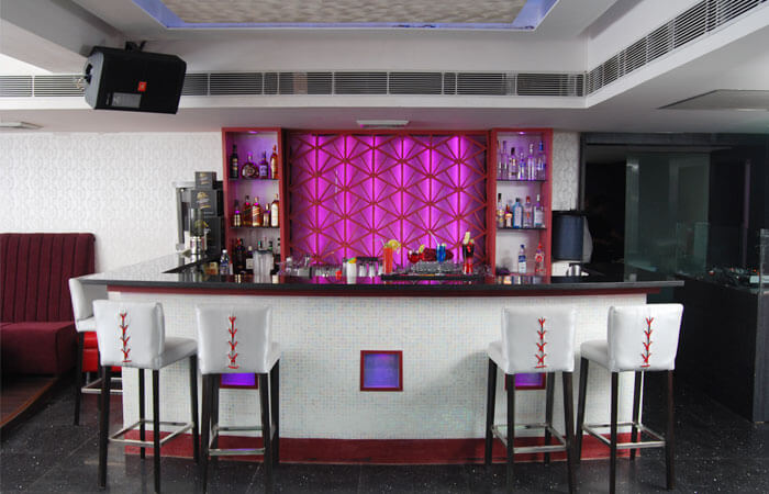 Bar At Gravity Restaurant Noida