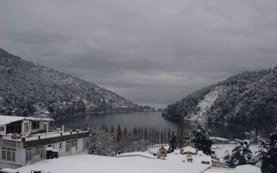 Snowfall in Nainital