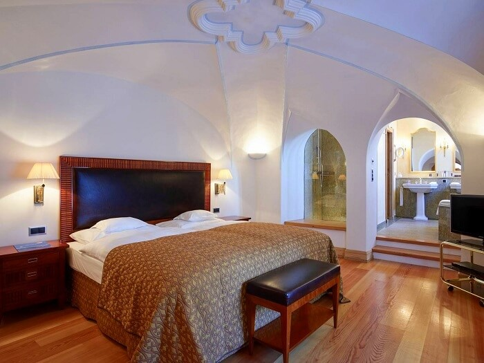 . Grand Hotel Kronenhof interiors