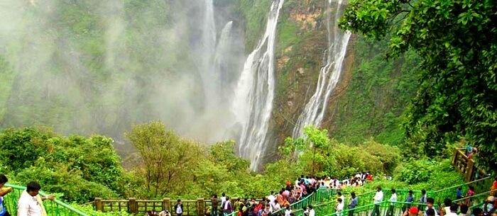 Kunchikal Falls Waterfalls
