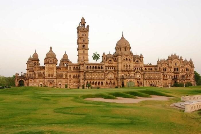 Laxmi Vilas Palace in Gujarat