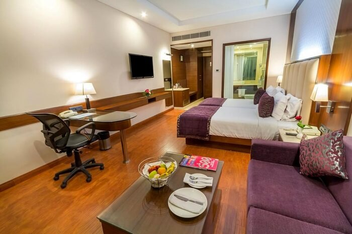 room in hotel madhuban