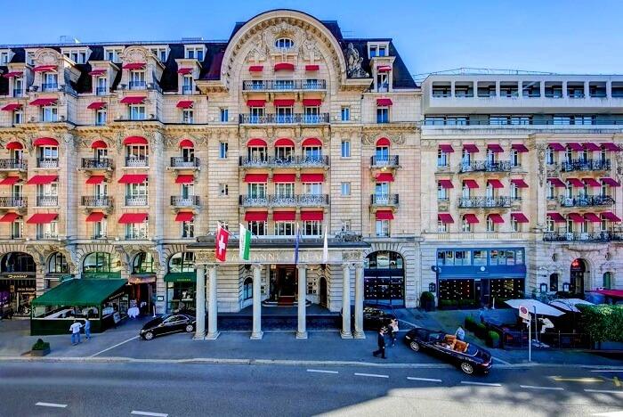 Lausanne Palace exterior
