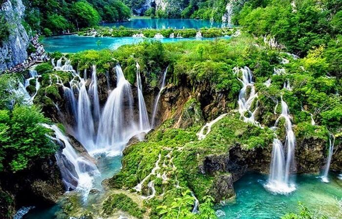 romantic waterfalls