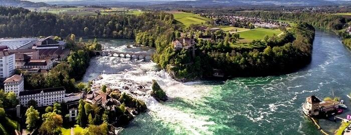 Rhine Falls Waterfalls