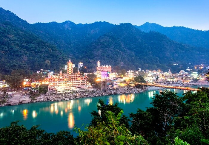 Ganga River Rishikesh Uttrakhand