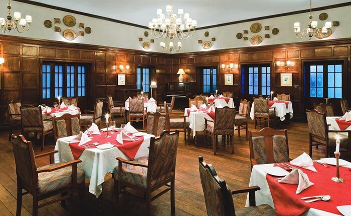 savoy hotel dining ooty