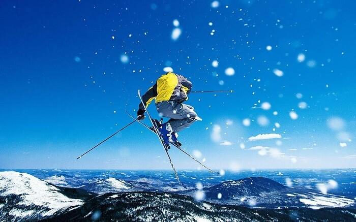 skiing in sierra nevada spain