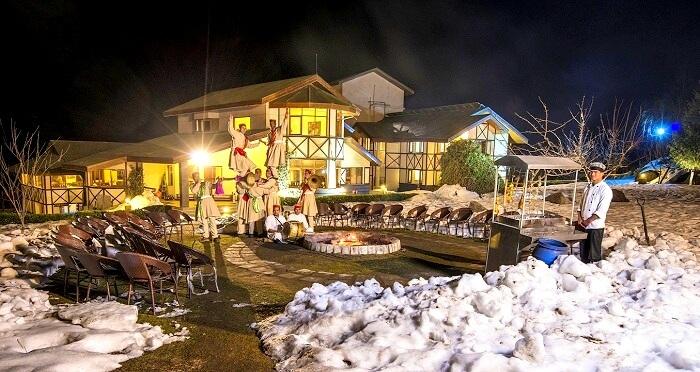 winter hotel salong valley resort